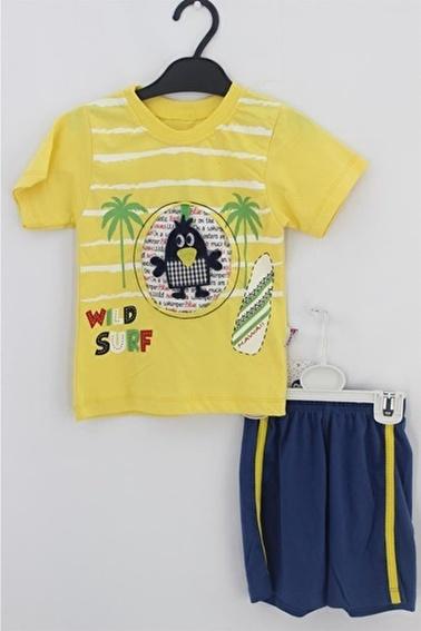 Sema Bebe Eymus Kaprili Takım Erkek Çocuk Giyim Renkli